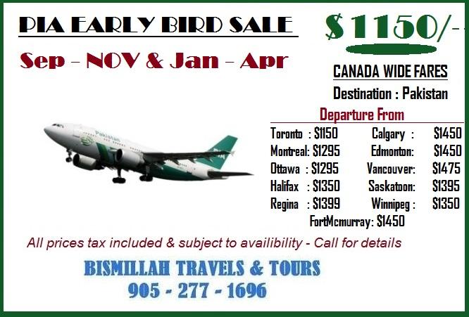 Bismillah Travels Canada Umrah Packages Visa Services